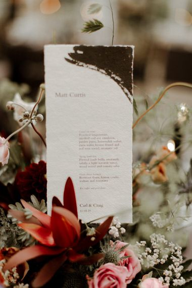 Wedding stationery by Bureau Design