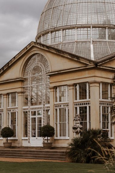 Conservatory at Syon Park wedding