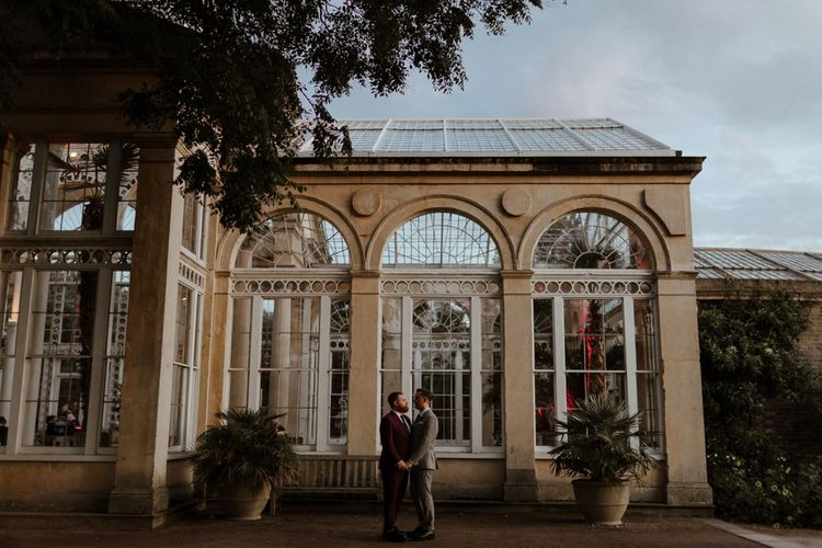 Gay wedding at Syon Park