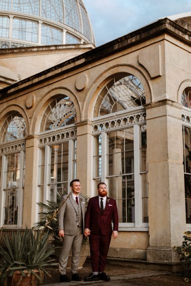 Same sex wedding at Syon Park