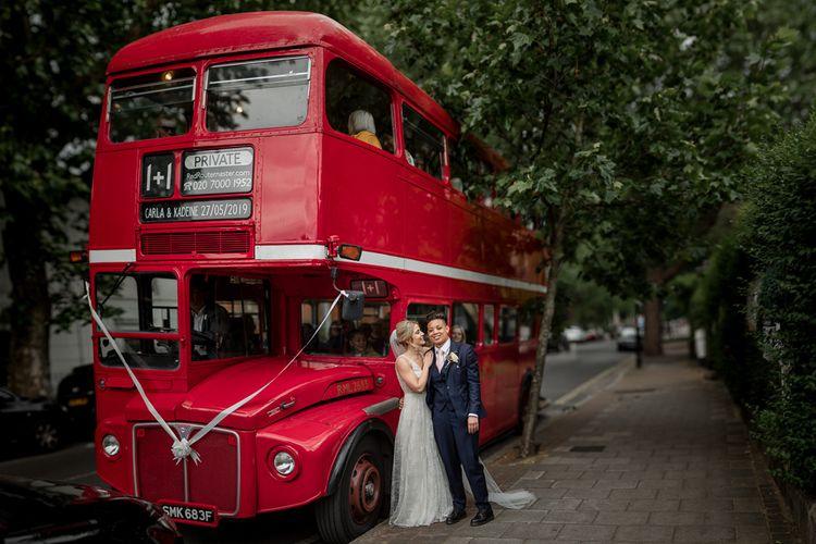 Red Bus Wedding Transport