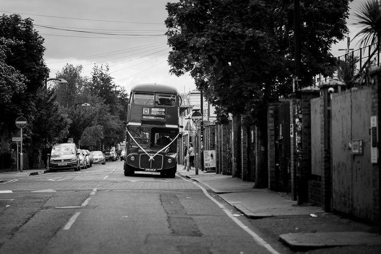 London Route Master Bus Wedding Transport