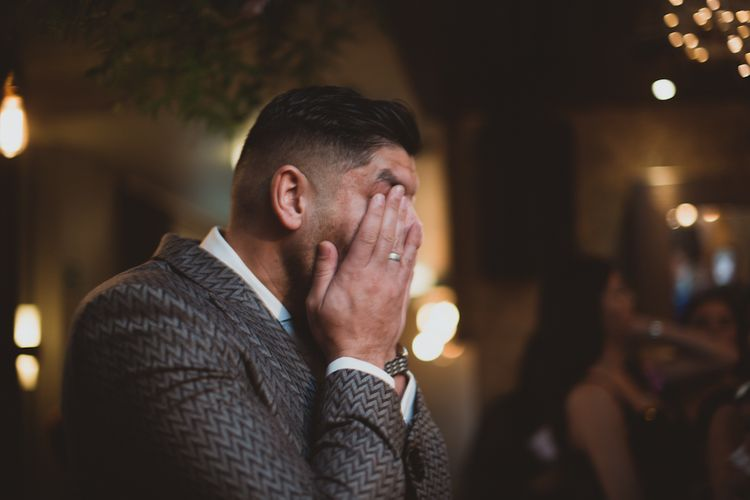 Groom Sees Bride For First Time