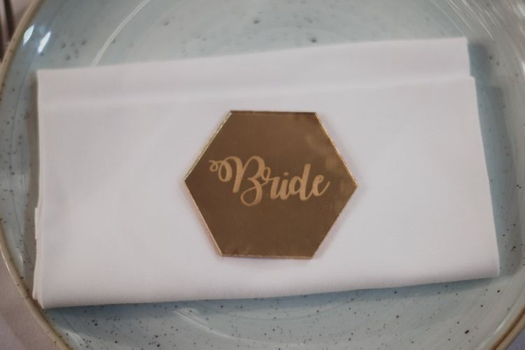 Place Name Settings For Wedding Tables