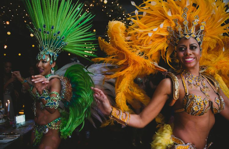 Brazilian Dancers To Entertain Guests