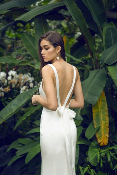 Catherine Deane Livvy Wedding Dress with Bow Back Detail