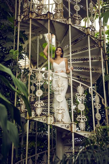 Catherine Deane Maggie Top and Morocco Skirt Bridal Separates with Lace and Tulle