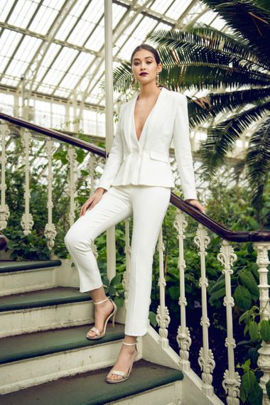 Catherine Deane Maxi Jacket and Milani Trousers Bridal Separates