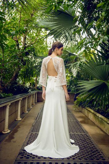 Catherine Deane Backless Muse Top and Mavis Skirt Bridal Separates