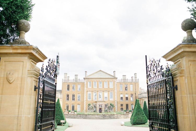 Aynhoe Park wedding venue in Cotswolds for whimsical wedding