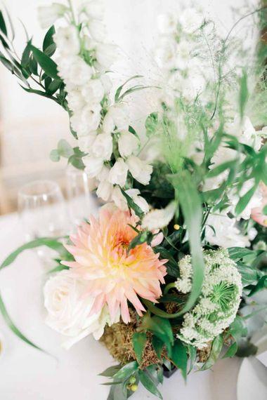 Wedding flowers for whimsical wedding