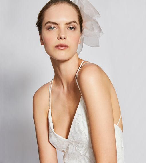 Charlie Brear Day For Night Collection // Norvelle Dress By Charlie Brear // Minimal Bridalwear Wedding Dress Occasionwear Dress By Charlie Brear