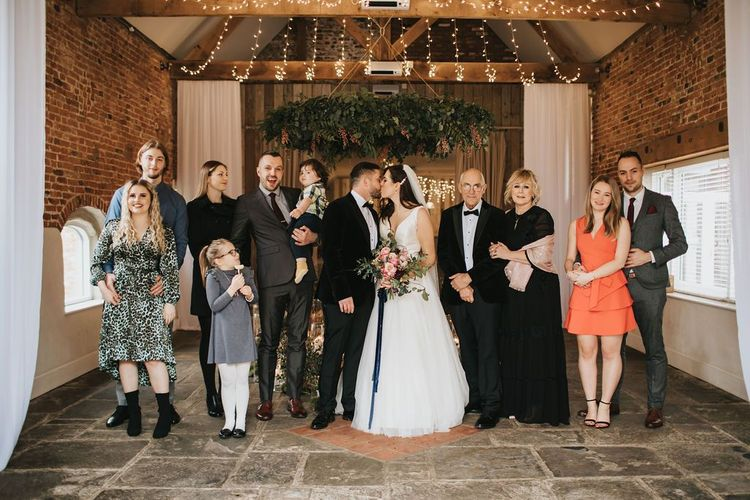 Intimate wedding with 20 guests at Healing Manor