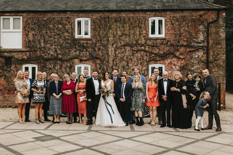 20 guests at intimate Healing Manor wedding