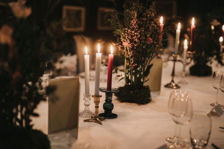 Intimate wedding breakfast with 8-course tasting menu