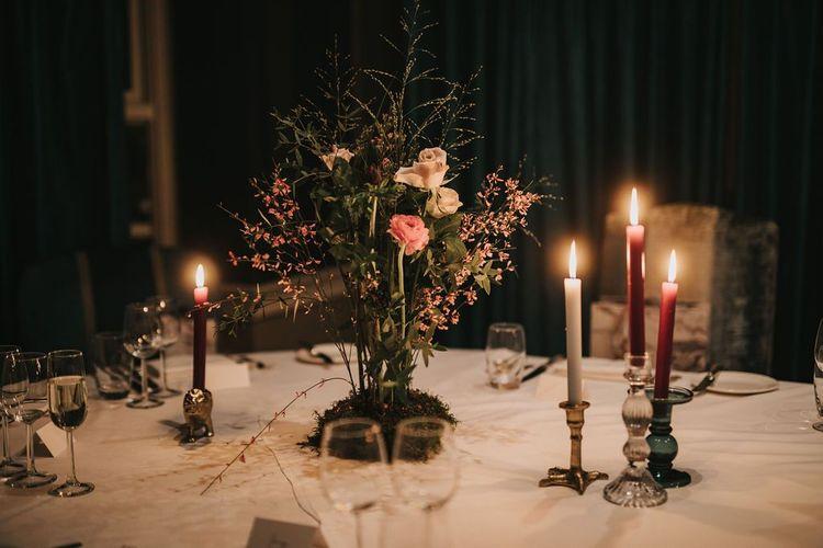 Intimate wedding at Healing Manor