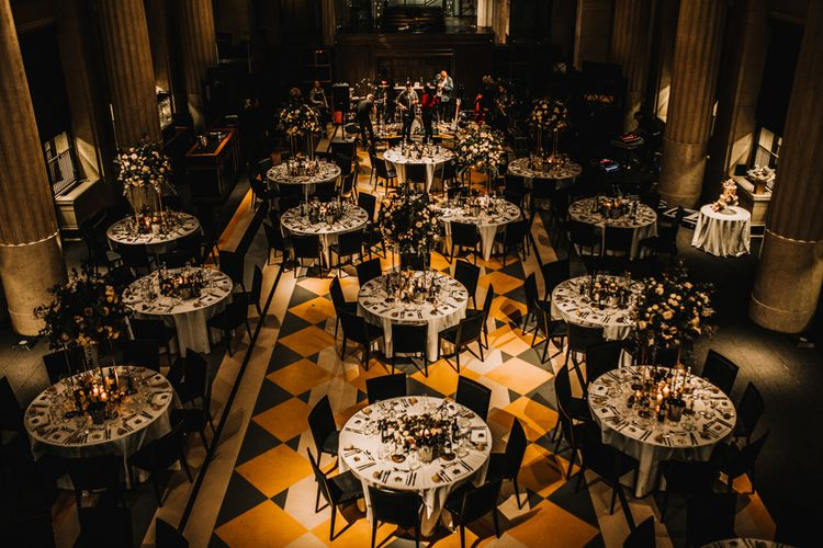 Wedding Reception at The Bank Hall in London