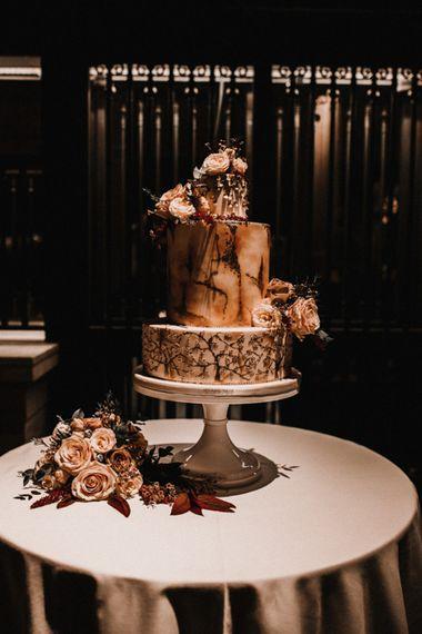 Three Tier Wedding Cake by Rosalind Miller Cakes