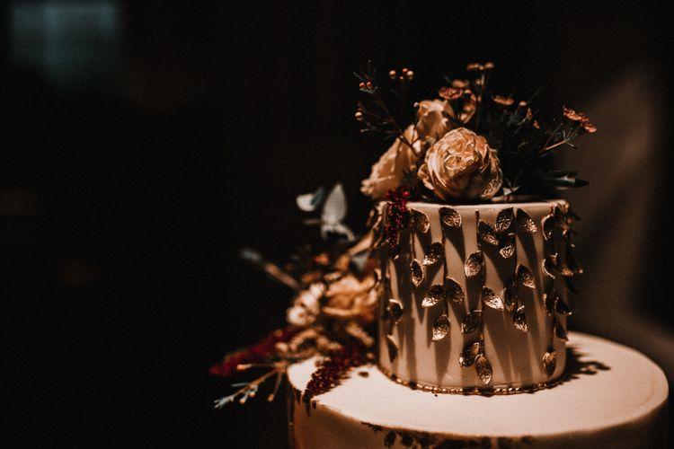 Stylish Wedding Cake by Rosalind Miller Cakes