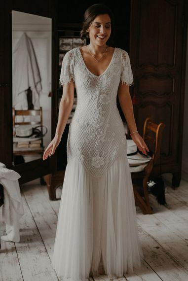 Stunning Eliza Jane Howell bride dress