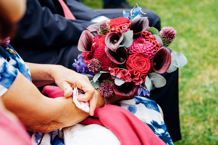 Colourful Bouquet | Bright DIY 'At Home' Outdoor Garden Ceremony & Marquee Reception | Marianne Chua Photography