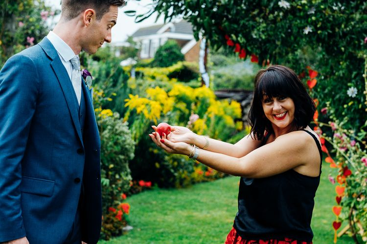 Wedding Guests | Bright DIY 'At Home' Outdoor Garden Ceremony & Marquee Reception | Marianne Chua Photography