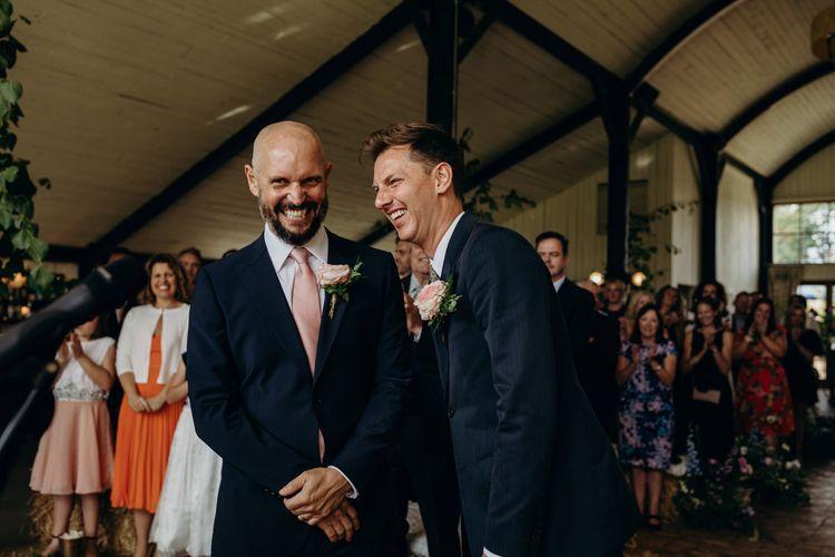 Same sex ceremony at Soho Farmhouse