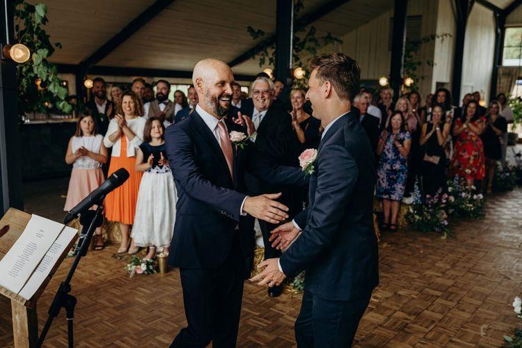 Mr and Mr Wedding Ceremony