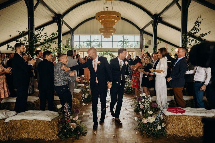 Same sex Wedding at Soho Farmhouse