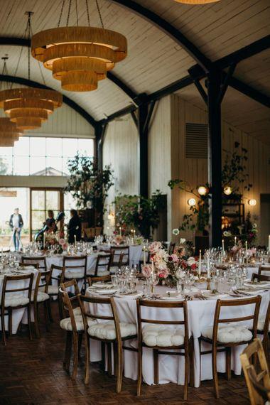 Soho Farmhouse wedding reception
