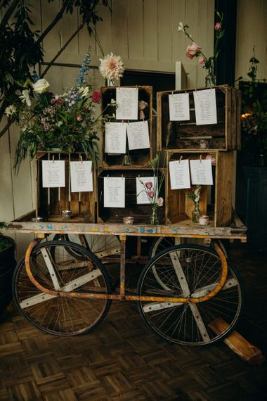 Rustic Wooden Crate Table Plan