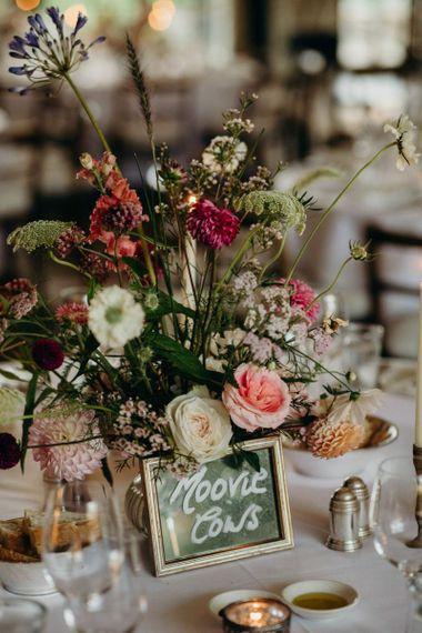 Wildflower Centrepiece Table Decor
