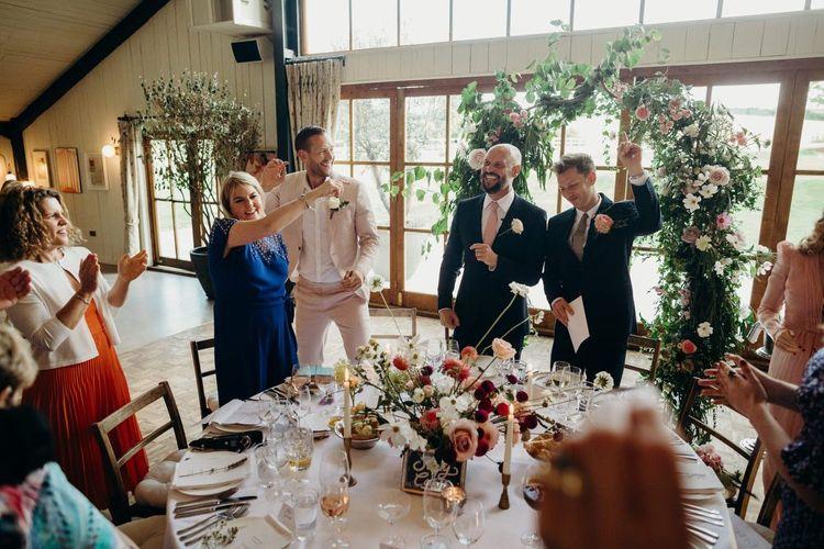 Same Sex Wedding Speeches at Soho Farmhouse
