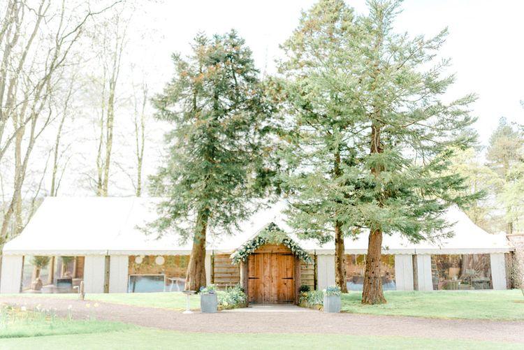 Barn/Marquee Wedding Venue at Myres Castle