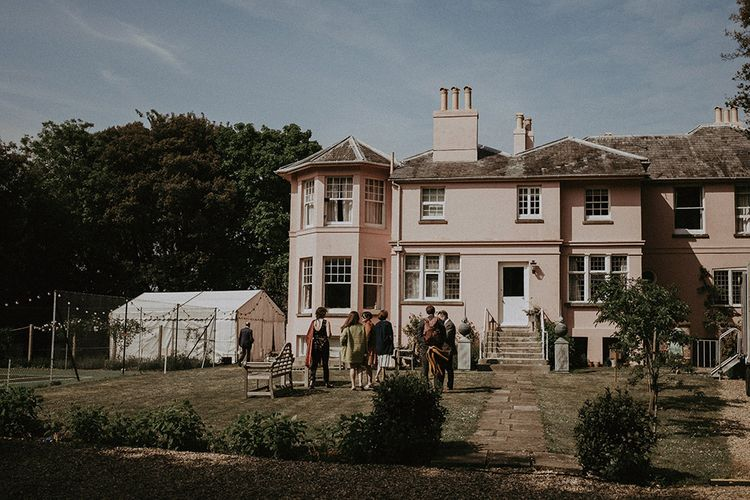Isle of Wight Beach Wedding Venue Pink House