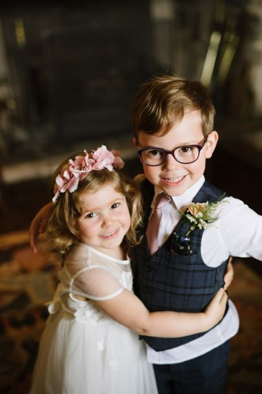 Adorable Flower Girl and Page Boy