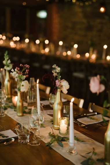 Taper Candles and Votive Candle Light