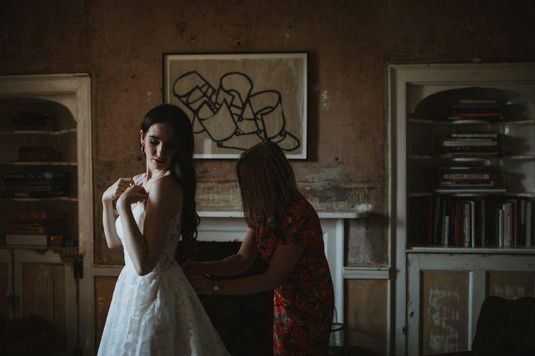 Bridal Preparations For Somerset Wedding