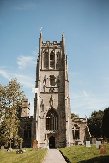 Church Wedding Ceremony In Somerset