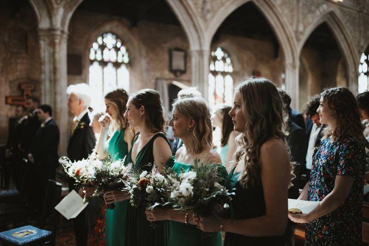 Green Bridesmaid Dresses For Summer Wedding