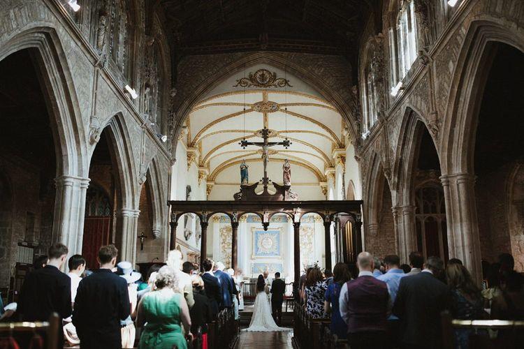 Somerset Church Wedding Ceremony