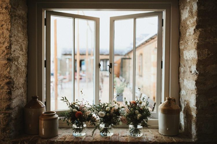 Wedding Flowers Decorate Reception Venue