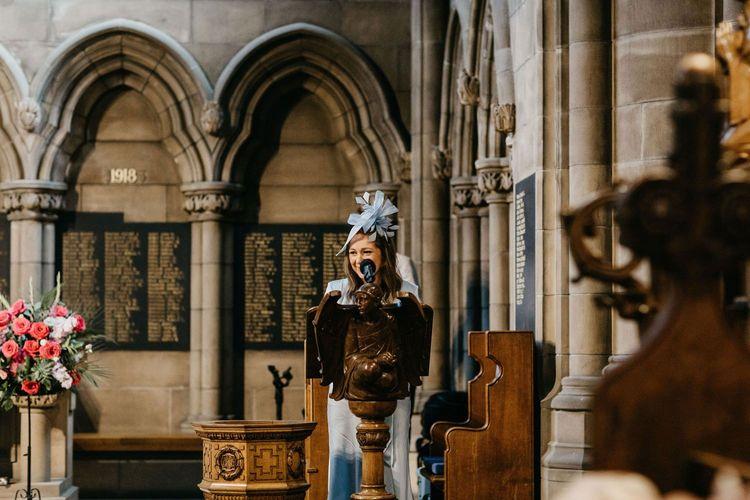 Wedding reading at Glasgow University Chapel