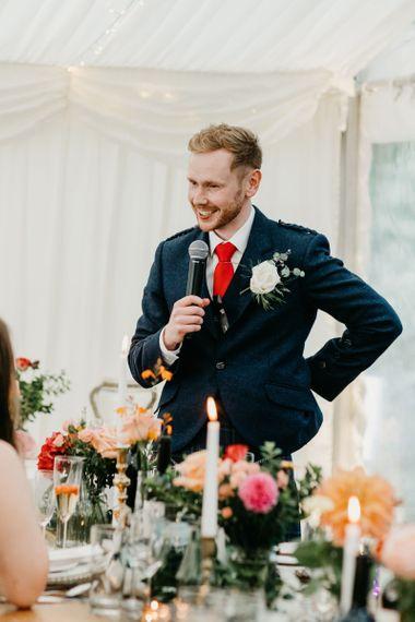 Best mans speech at wedding 2020