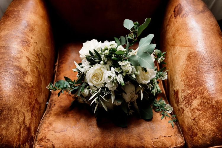 White Wedding  Bride Bouquet