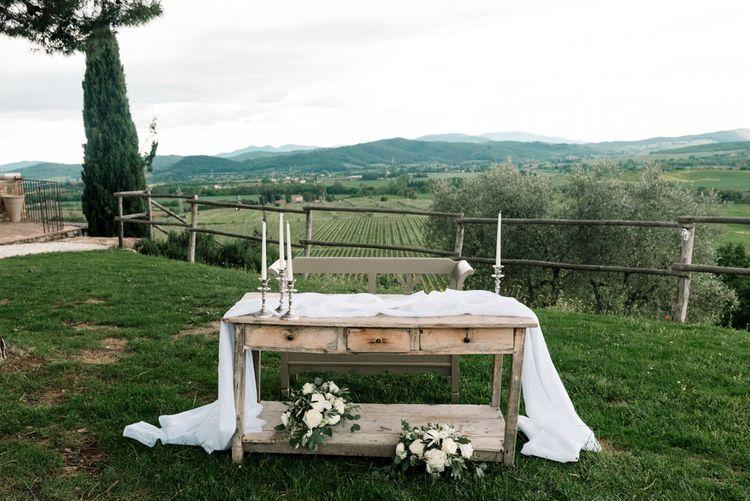 Wedding Altar Style for Register Signing