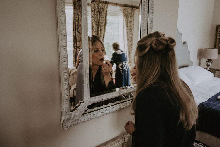 Wedding Makeup During Wedding Preparations