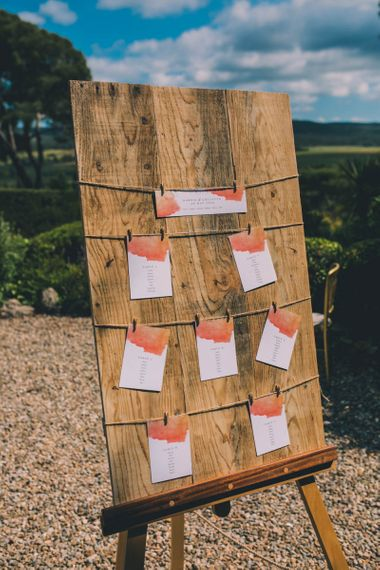 Table Plan For French Wedding