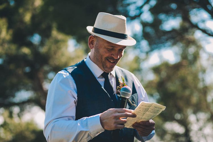 Wedding Speeches In The French Sun