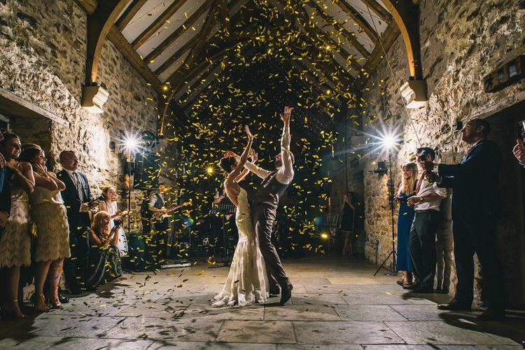 Confetti Cannon | Dance Floor |  Paulo Santos Photography